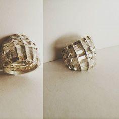 #silverrings #stone #colorful #spring #modernjewellery