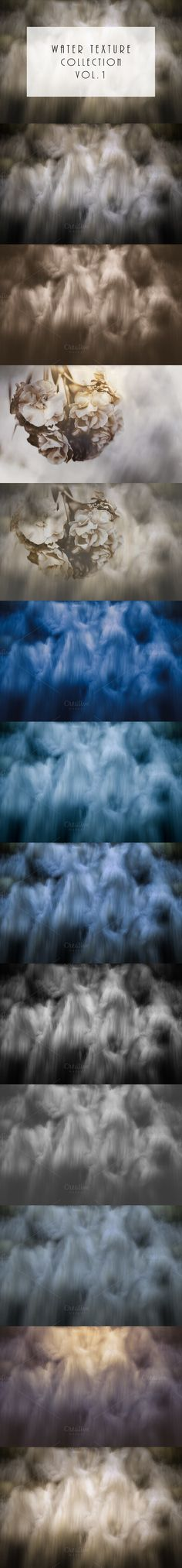 Water texture collection vol.1. Textures. $15.00