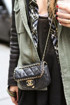 Would love a cross body Chanel. but after unpacking 8 bags today at Saks id take anything♥