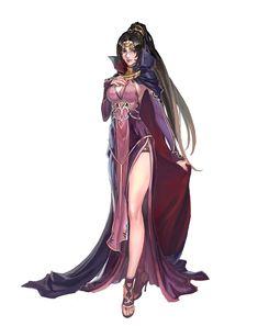 Female Sorcerer - Pathfinder PFRPG DND D&D d20 fantasy