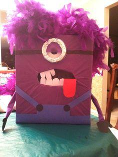 Evil Minion Valentine box craft