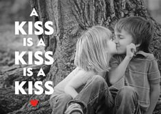 A kiss is a kiss... #tagdeskusses #kissingday