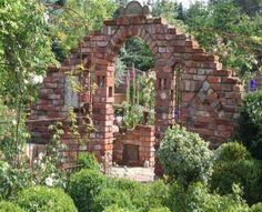 Charming Ruinenmauer Aus Alten Mauerziegeln | Garten | Pinterest | Garten, Pergolas  And Gardens Awesome Design