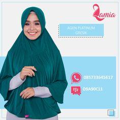 Halo #sahabatlamia di gresik, yuk diorder hijabnya, kerudung nyaman dan tidak gerah enak dipakai sehari- hari. Lihat Katalog Produk di Album @lamiahijabkatalog . WA: 085733645617 BBM : D9A90C11
