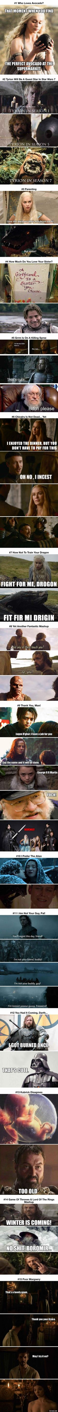 15 Best Game Of Thrones Jokes Ever - 9GAG