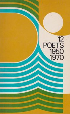 12 poets 1950/ 1970 ✭ vintage book cover ✭ graphic design inspiration
