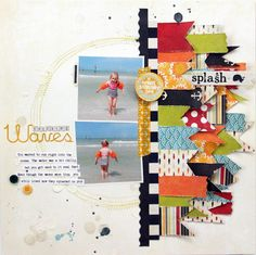 layout by Audrey Yeager using Fancy Pants papers
