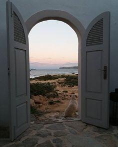 Cala d'en Baster, Formentera #ibizaimages #formentera #seaview