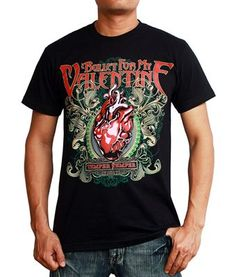 Bullet For My Valentine Temper Temper BFMV T-Shirt $19.99. This Bullet for My Valentine t-shirt is printed on 100% soft cotton, guaranteed to endure the harshest treatment. Heavy Metal tee with detailed graphics and vivid colors - essential BFMV merch. Browse our selection of rare & limited edition BFMV t-shirts.