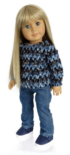 Silly Monkey - Blue Sweater and Jeans, $17.99 (http://www.silly-monkey.com/products/blue-sweater-and-jeans.html)