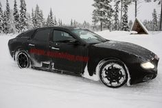 2014 Maserati Ghibli prototype spied for the first time