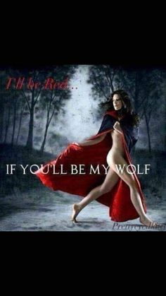 Red Riding Hood Wolf, Red Ridding Hood, Wolf Meme, Girl With Green Eyes, Wolf Quotes, Big Bad Wolf, Wolf Tattoos, Dark Beauty, Girl Cartoon
