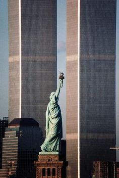Twin Towers, NYC - still get choked up. Glad I had the opportunity to visit the towers prior to 9-11