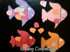 3 Activities for the Rainbow Fish.