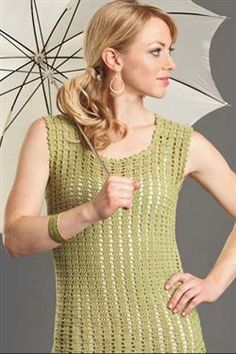 Things to Make:  Sweetgrass Top - Crochet Me (IC Spring 2012)
