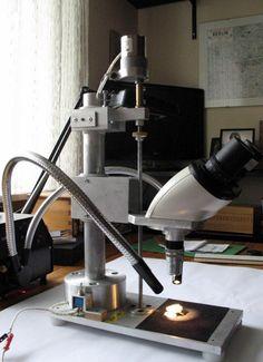 Macroscope setup by Wutsdorff