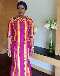 Dear Fashion Savvy Ladies, We are writing to let you know that kente has come to impress us with amazing designs. Kente is not as common as Ankara which makes it an appealing fabric. Latest African Fashion Dresses, African Dresses For Women, African Print Fashion, African Attire, African Women, African Prints, African Outfits, African Clothes, African Fabric