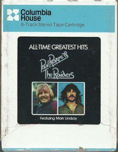 PAUL REVERE & THE RAIDERS Greatest Hits GROUP ROCK 8 TRACK TAPE MUSIC ALBUM