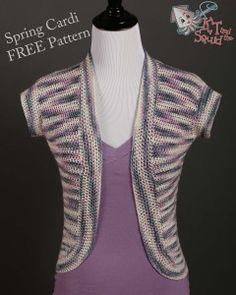 Spring Cardi, a free crochet pattern