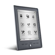 ebook energy sistem e reader e6 rubber grey