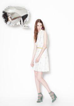 love this little white dress