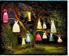 Dress Lanterns, a little creepy lol