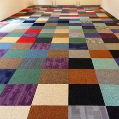 BoogieWoogie multicolor tapijttegels