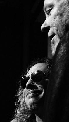 Kirk Hammett & James Hetfield Metallica