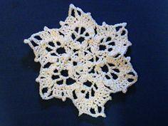 Snowflake DishclothDoily  Decoration by amydscrochet on Etsy