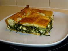 natassa's bake blog: Σπανακοτυρόπιτα Spinach&feta  pie