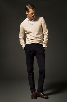 Archetype: Ol' School: traditional, Simple, clean, tailored... Menswear