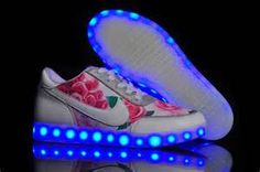 vans light up chaussures
