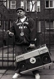 How did we ever carry our bags?   ****Ghettoblaster