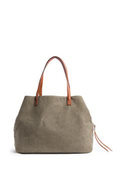 Street Level Anchorage Solid Canvas Tote