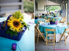 Sunflower Inspired Wedding Decor