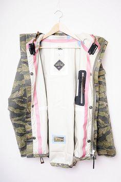 urbantechwear:  visvim tiger camo gore tex jacket