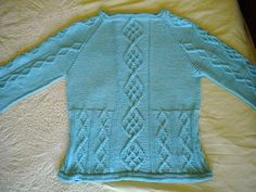 Ravelry: Ritzyknitz's Cable Down Pullover