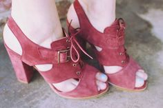 #red #shoes