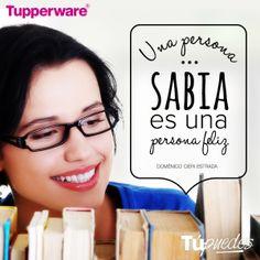 ¿A ti qué te hace feliz? #ViveTupperware
