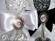 Black & White Wedding glasses Personalized LACE/ foto от DiAmoreDS #wedding glasses, #champagne glasses, #wedding champagne glasses, #bride and groom champagne flutes, purple wedding, #champagne flutes, #toasting flutes, #black and white wedding, #wedding toasting glasses, #wedding flutes, #personalized toasting flutes, #personalized wedding glasses, #wedding, #wedding shot glasses, #shot glasses, personalized wedding flutes, #wedding glasses set, #wedding champagne flute, #glasses, #wedding…