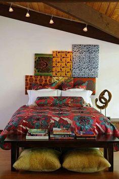 Tendenza afro chic 2017 - Camera da letto in stile afro chic