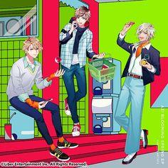 【公式】A3!(エースリー)(@mankai_company)さん | Twitter How To Speak Japanese, Upbeat Songs, Mixed Feelings, Boy Poses, Comic Games, Spring Jackets, You Look Like, Cute Images, Pretty Boys