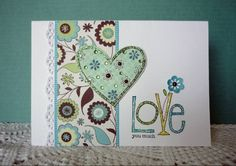 1st Anniversary by frenziedstamper - Cards and Paper Crafts at Splitcoaststampers