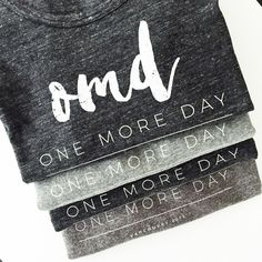 The Modern Fort OMD 2015 | One More Day Tee | Cancer Support