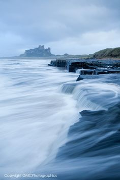 Bamburgh Castle, Northumberland, England Bamburgh Movement by GazzaJagman