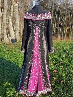 Cape Designs, Mantel, Designer, Victorian, Collection, Dresses, Fashion, Pink, Fall Color Schemes