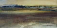 The Alde Estuary- watercolour - Sara Johnson