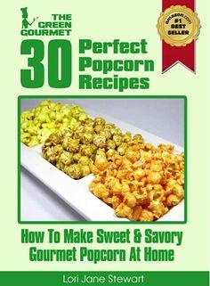 FREE e-Cookbook: 30 Sweet  Savory Gourmet Popcorn Recipes! ~ at TheFrugalGirls.com #popcorn #recipes
