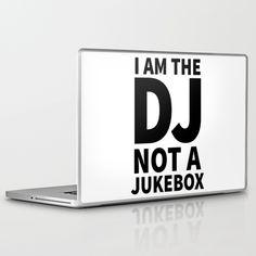 I'm the DJ! Laptop & iPad Skin