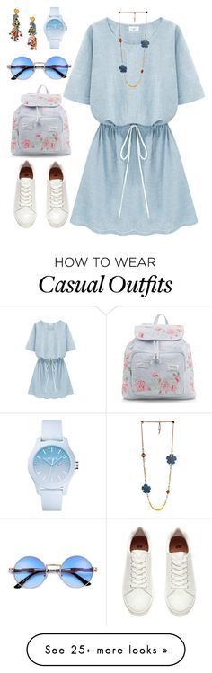 """""""Untitled #282"""" by siberiagirl on Polyvore featuring Tory Burch, New Look and Lacoste"""